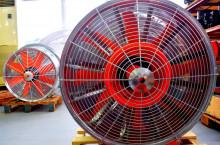 DI-FAN Вентилатор ф800 2 ск.,сп.лопатки, външен НА