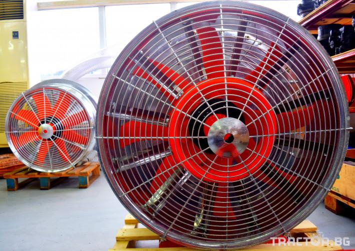 Части за инвентар DI-FAN Вентилатор ф800 2 ск.,сп.лопатки, външен НА 2 - Трактор БГ