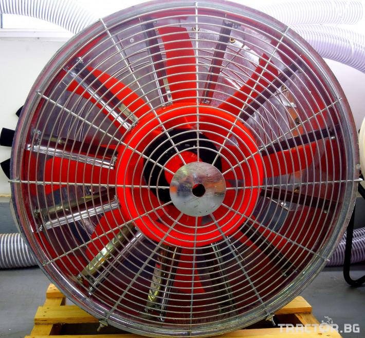 Части за инвентар DI-FAN Вентилатор ф800 2 ск.,сп.лопатки, външен НА 0 - Трактор БГ