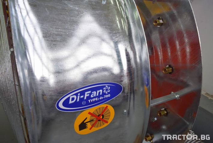 Части за инвентар DI-FAN Вентилатор ф800 2 ск.,сп.лопатки, външен НА 1 - Трактор БГ